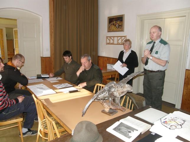 Zahájení mysliveckého kurzu o 1. lovecký lístek